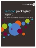 Pet food packaging report