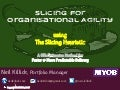 Slicing for Organisational Agility - A #NoEstimates Method
