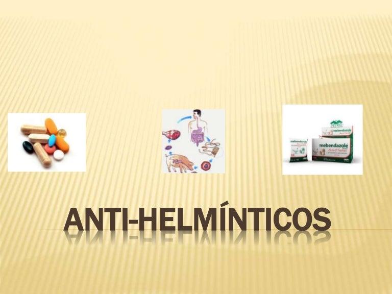 antihelmintico significado