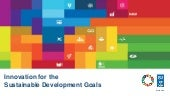 Innovation for the Sustainable Development Goals - Four Trends in 2017