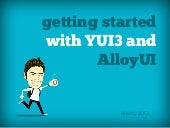 Getting started with YUI3 and AlloyUI
