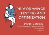 Performance Testing And Optmization Workshop