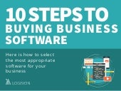 10 Steps To Buying Business Software