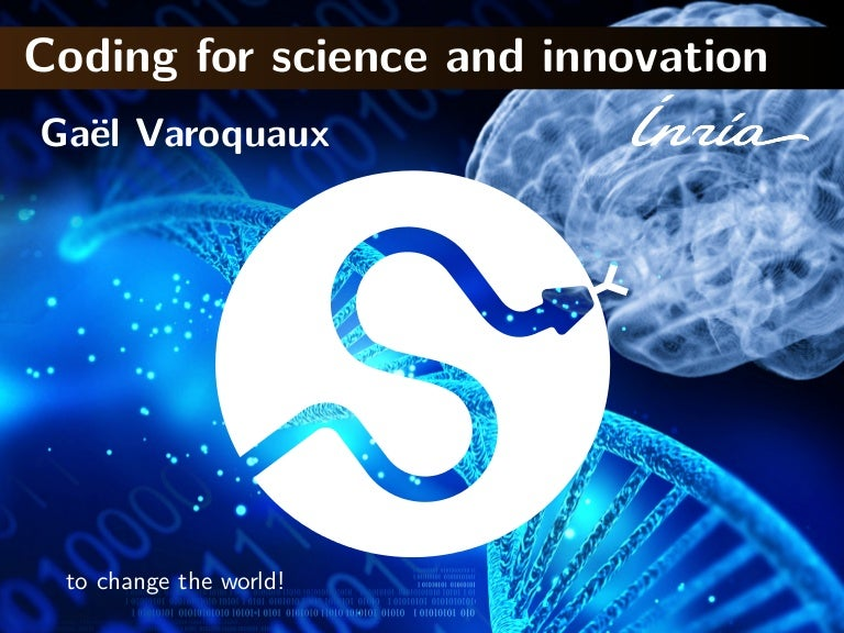 Coding for science and innovation