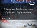 Webinar-5 Steps to a Painless Increase Cycle with PayScale Crew