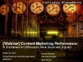 [Slides] Content Marketing Performance by Altimeter Group