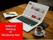 EDUBISNIS.net - kursus online tentang bisnis dan manajemen