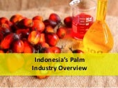 Indonesia's Palm Oil Industry Overview