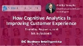 Simtelligent Demo: How Cognitive Analytics Is Improving Customer Experience