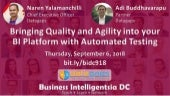 Datagaps Demo: Bringing Quality + Agility into your BI Platform w/ Automated Testing