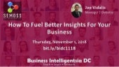 SEMOSS Demo: How To Fuel Better Insights For Your Business