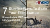 Startup 101: 7 Surefire Ways To Scale Your Tech Startup