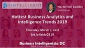 Hottest Business Analytics and Intelligence Trends in 2019