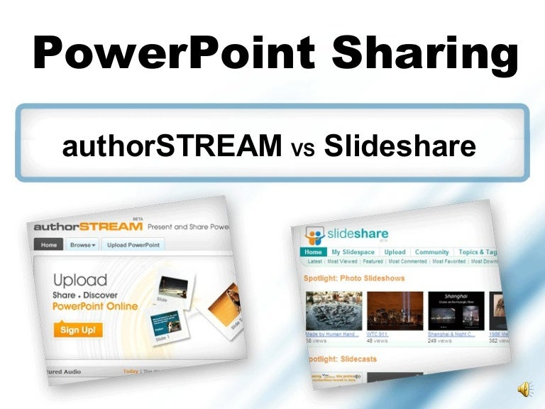 slideshare and-authorstream-presentation, Powerpoint templates