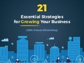 21 Essential Strategies for Growing Your Business