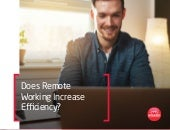 Does Remote Working Increase Efficiency