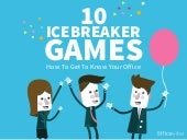 10 Ice Breaker Games - How to get to know your office