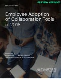[REPORT PREVIEW] Employee Adoption of Collaboration Tools in 2018