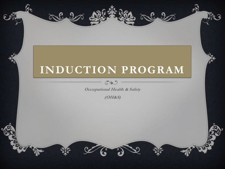 role play - induction process for new employees, Presentation templates