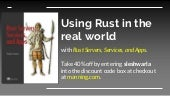 Rust Servers, Services, and Apps