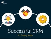 Successful CRM in 3 easy steps