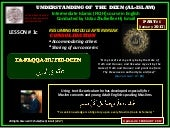 [Slideshare] tafaqqahu-#6-(january-2017)-lesson-#1c-consolidation-restart module-(4-february-2017)
