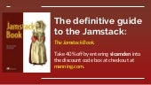 The Jamstack Book: building fast and secure static sites
