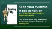 Tuning Up: keep your systems running smoothly
