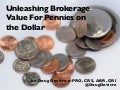 Unleashing Real Estate Brokerage Value Using Pennies on the Dollar
