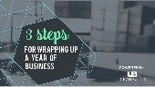 Wrapping Up a Year of Business