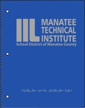 Manatee Technical Institute Spiral-bound Notebooks Proof