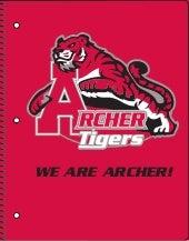 Archer High School Spiral-bound Notebooks