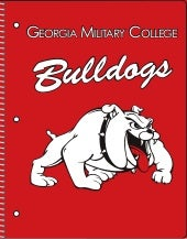 Georgia Military College Spiral-bound Notebooks