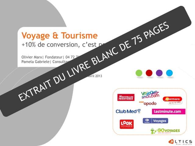 Altics livre_blanc_e_tourisme_voyage_2013