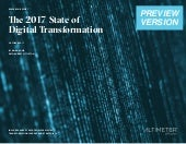 [REPORT PREVIEW] The 2017 State of Digital Transformation
