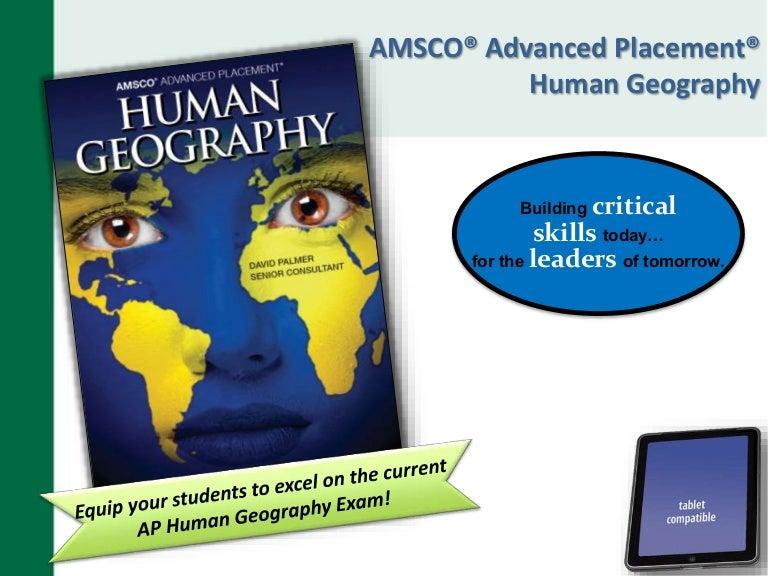 AMSCO AP Human Geography