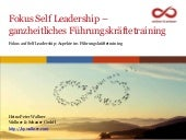 Slideshare blogging - Self Leadership - heinz peter wallner