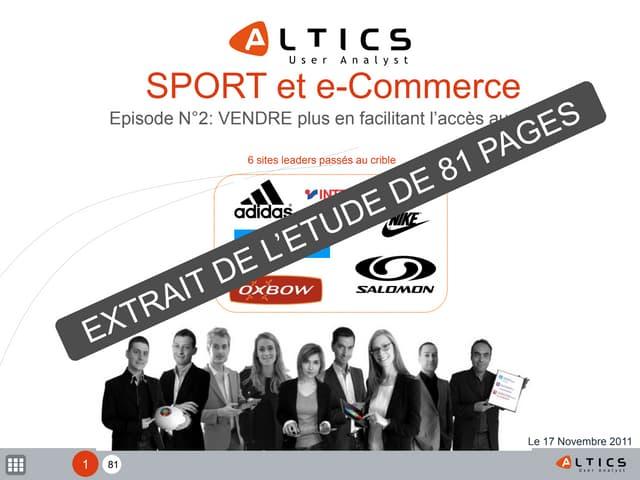 Slideshare lb sport_audit_accès aux produits