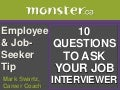 10 Questions To Ask Interviewers