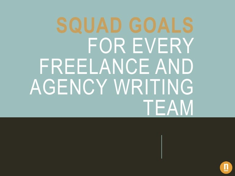 how to assemble your writing squad