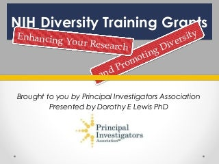 Research papers on diversity training