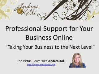 Virtual Business Support and Assistance