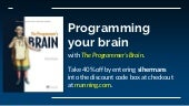 The Programmer's Brain: improve the way you learn and think about code