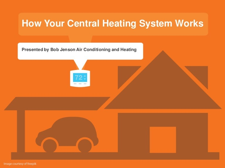 Types of wet central heating systems