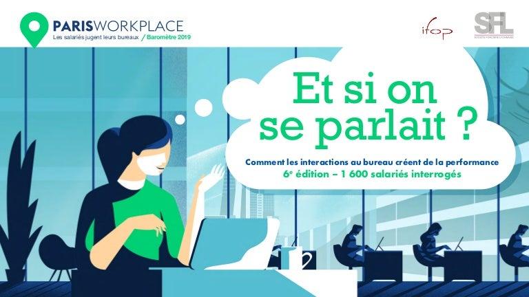 Paris Workplace Ifop-SFL 2019 - Et si on se parlait ?