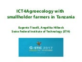 ICT4Agroecology with smallholder farmers in Tanzania