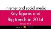 Internet and Social Media : Key figures and Big trends 2014