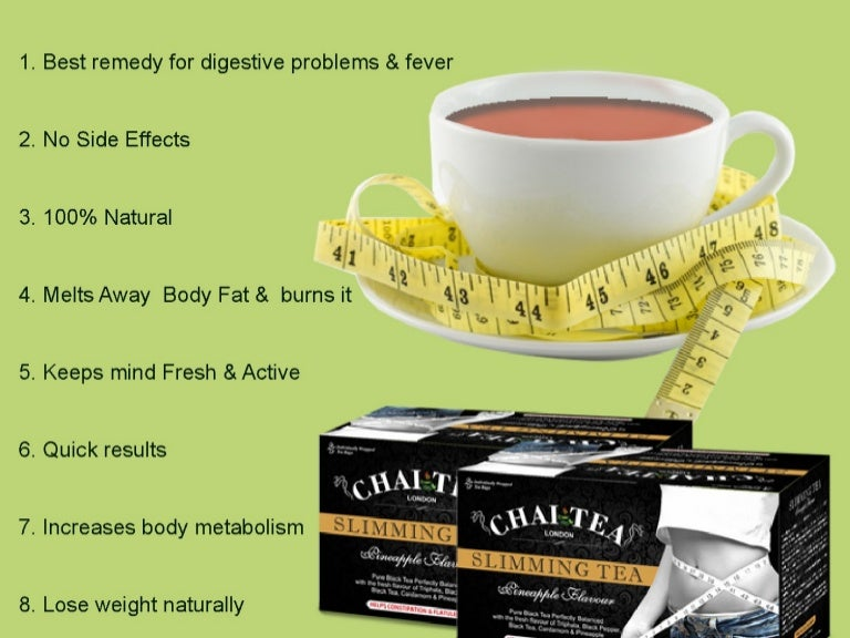 Weight loss powder mixes are made into