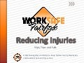 Worksafe Fairfax: Reducing Injuries: Slips, Trips and Falls