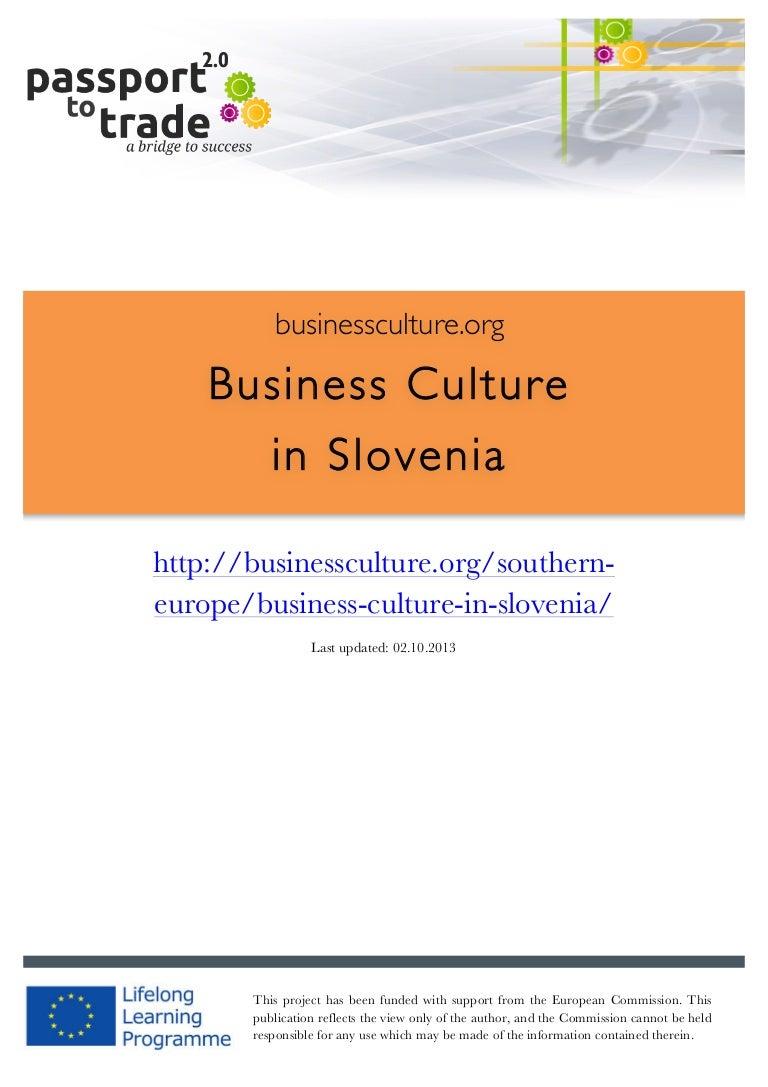 Slovenian dating culture